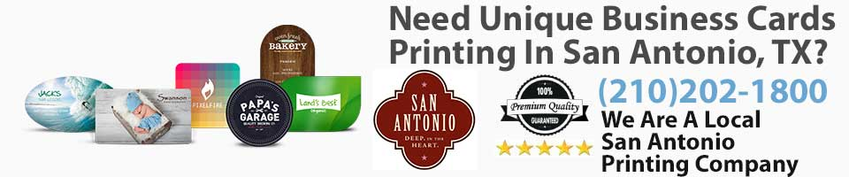 Unique business cards la luz printing company san antonio tx unique business cards san antonio tx reheart Image collections
