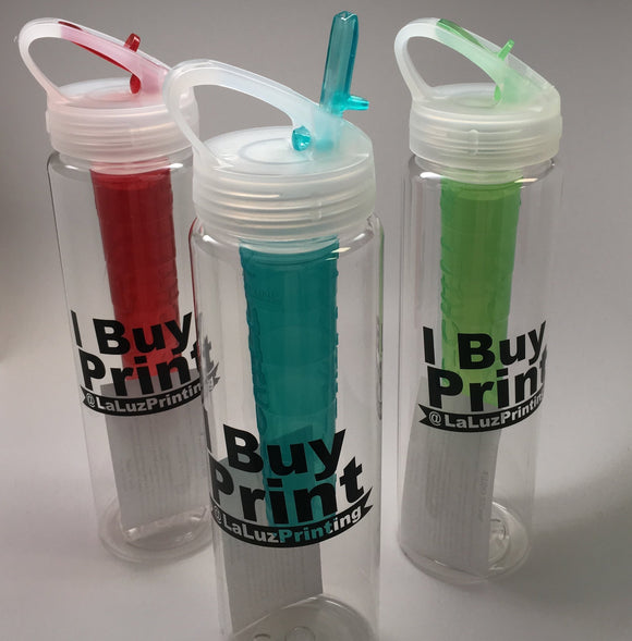 32 oz. Sport Water Bottle with Ice Chill'r - Minuteman Press formely La Luz Printing Company | San Antonio TX Printing-San-Antonio-TX