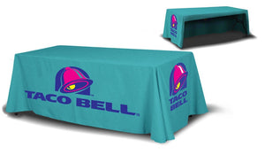 8ft Table Covers 3 Sided - Minuteman Press formely La Luz Printing Company | San Antonio TX Printing-San-Antonio-TX