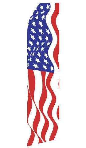 American Flag Feather Flags | Stock Design - Minuteman Press formely La Luz Printing Company | San Antonio TX Printing-San-Antonio-TX