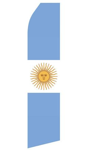 Argentina Feather Flag | Stock Design - Minuteman Press formely La Luz Printing Company | San Antonio TX Printing-San-Antonio-TX
