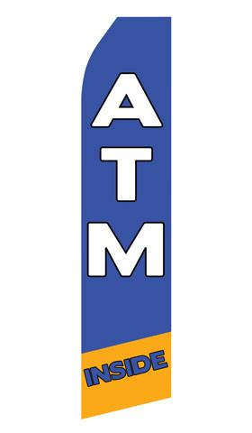ATM Inside Feather Flags | Stock Design - Minuteman Press formely La Luz Printing Company | San Antonio TX Printing-San-Antonio-TX