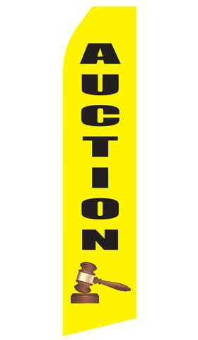 Auction Feather Flags | Stock Design - Minuteman Press formely La Luz Printing Company | San Antonio TX Printing-San-Antonio-TX
