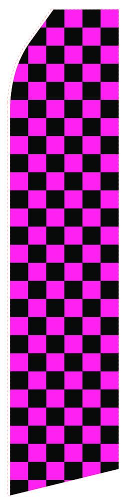 Black Magenta Feather Flag | Stock Design - Minuteman Press formely La Luz Printing Company | San Antonio TX Printing-San-Antonio-TX