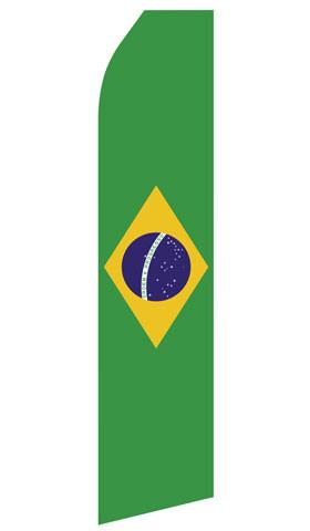 Brazilian Feather Flag | Stock Design - Minuteman Press formely La Luz Printing Company | San Antonio TX Printing-San-Antonio-TX