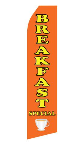 Breakfast Feather Flags | Stock Design - Minuteman Press formely La Luz Printing Company | San Antonio TX Printing-San-Antonio-TX