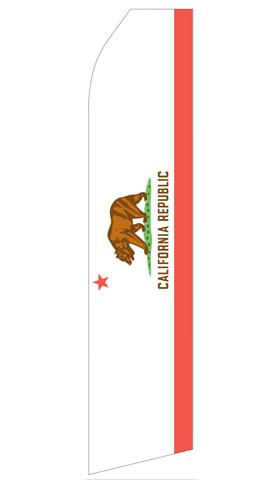 California Republic Feather Flag | Stock Design - Minuteman Press formely La Luz Printing Company | San Antonio TX Printing-San-Antonio-TX