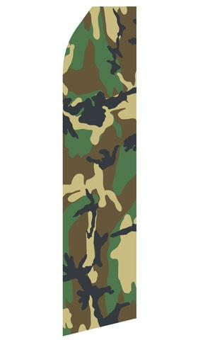 Camo Feather Flags | Stock Design - Minuteman Press formely La Luz Printing Company | San Antonio TX Printing-San-Antonio-TX