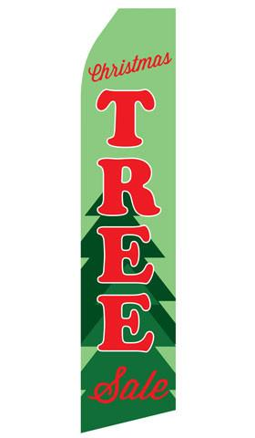 Christmas Tree Sale Feather Flag | Stock Design - Minuteman Press formely La Luz Printing Company | San Antonio TX Printing-San-Antonio-TX