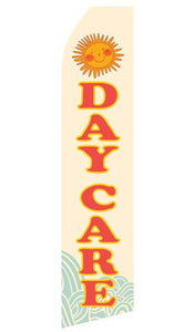 Day Care Feather Flag | Stock Design - Minuteman Press formely La Luz Printing Company | San Antonio TX Printing-San-Antonio-TX