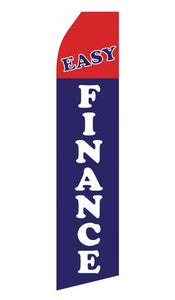 Easy Finance Feather Flag | Stock Design - Minuteman Press formely La Luz Printing Company | San Antonio TX Printing-San-Antonio-TX