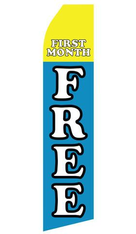 First Month Free Feather Flags | Stock Design - Minuteman Press formely La Luz Printing Company | San Antonio TX Printing-San-Antonio-TX