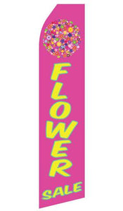 Flower Sale Feather Flag | Stock Design - Minuteman Press formely La Luz Printing Company | San Antonio TX Printing-San-Antonio-TX