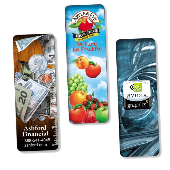 Full Color 4D Lenticular Round Corner Bookmarks - Minuteman Press formely La Luz Printing Company | San Antonio TX Printing-San-Antonio-TX