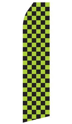 Green and Black Checkered Feather Flags | Stock Design - Minuteman Press formely La Luz Printing Company | San Antonio TX Printing-San-Antonio-TX