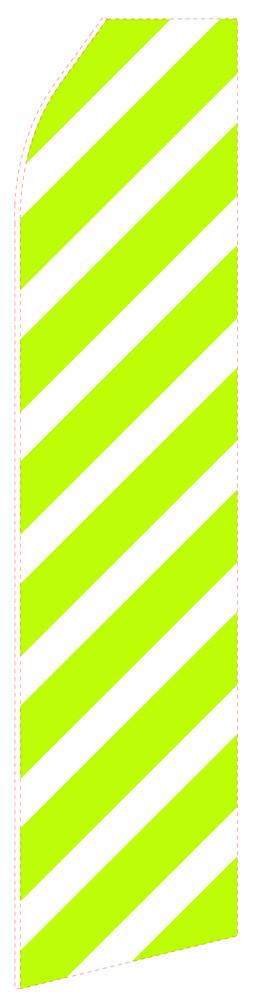 Green Slash Feather Flag | Stock Design - Minuteman Press formely La Luz Printing Company | San Antonio TX Printing-San-Antonio-TX