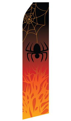 Halloween Spider Feather Flags | Stock Design - Minuteman Press formely La Luz Printing Company | San Antonio TX Printing-San-Antonio-TX