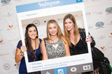 "Instagram Style ""Selfie"" Custom Photo Booth Prop Frame-Printed,Wedding,Marketing,Social Media Cutouts - Minuteman Press formely La Luz Printing Company 