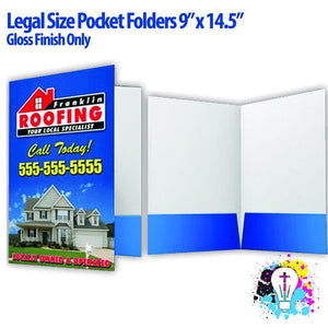 Legal Size Pocket Folders - Minuteman Press formely La Luz Printing Company | San Antonio TX Printing-San-Antonio-TX