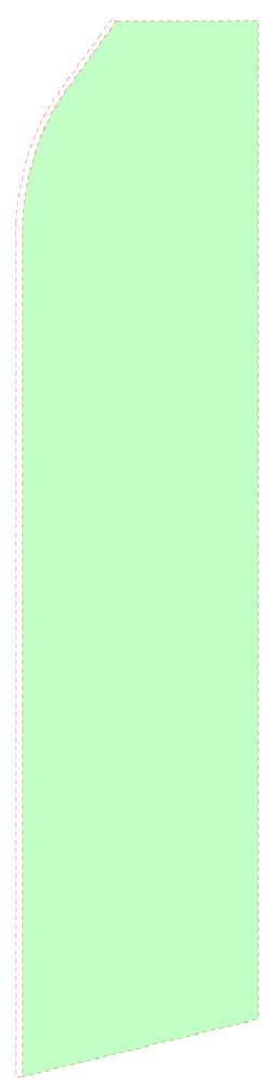 Light Green Feather Flag | Stock Design - Minuteman Press formely La Luz Printing Company | San Antonio TX Printing-San-Antonio-TX