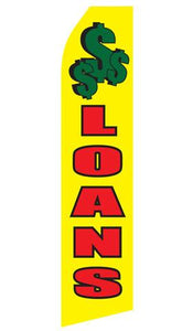 Loans Feather Flags | Stock Design - Minuteman Press formely La Luz Printing Company | San Antonio TX Printing-San-Antonio-TX