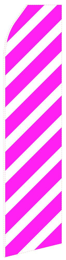 Magenta Stripe Feather Flag | Stock Design - Minuteman Press formely La Luz Printing Company | San Antonio TX Printing-San-Antonio-TX
