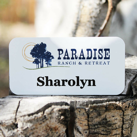 Magnetic Name Badges- 1.5
