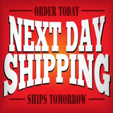 "Next Day Shipping Appreciation Banner | ""Heroes Work Here"" Banner (6ft wide by 3ft tall) - Minuteman Press formely La Luz Printing Company 