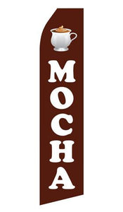 Mocha Feather Flags | Stock Design - Minuteman Press formely La Luz Printing Company | San Antonio TX Printing-San-Antonio-TX