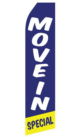 Move In Special Feather Flag | Stock Designs - Minuteman Press formely La Luz Printing Company | San Antonio TX Printing-San-Antonio-TX