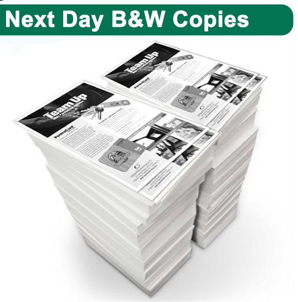 Next Day Black & White Copies - Minuteman Press formely La Luz Printing Company | San Antonio TX Printing-San-Antonio-TX