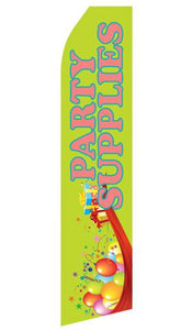 Party Supplies Feather Flags | Stock Design - Minuteman Press formely La Luz Printing Company | San Antonio TX Printing-San-Antonio-TX