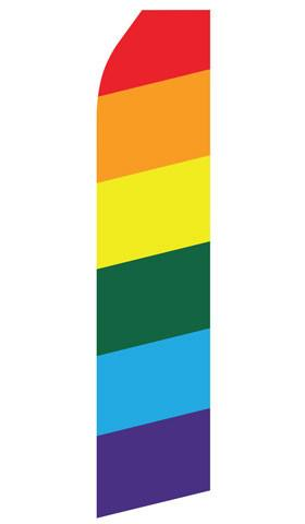 Rainbow Feather Flags | Stock Design - Minuteman Press formely La Luz Printing Company | San Antonio TX Printing-San-Antonio-TX