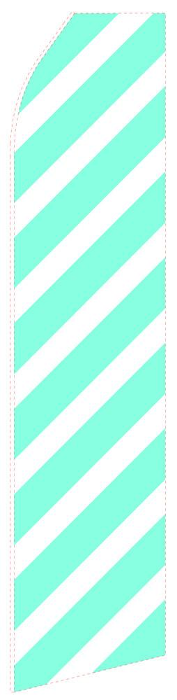 Ribbed Cyan Feather Flag | Stock Design - Minuteman Press formely La Luz Printing Company | San Antonio TX Printing-San-Antonio-TX