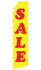 Sale Feather Flag | Stock Design - Minuteman Press formely La Luz Printing Company | San Antonio TX Printing-San-Antonio-TX