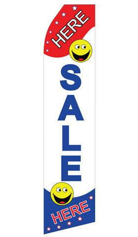 Sale Here Feather Flags | Stock Design - Minuteman Press formely La Luz Printing Company | San Antonio TX Printing-San-Antonio-TX