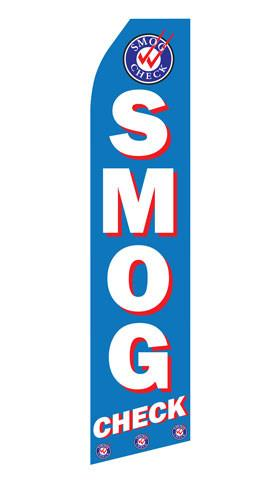 Smog Check Feather Flags | Stock Design - Minuteman Press formely La Luz Printing Company | San Antonio TX Printing-San-Antonio-TX
