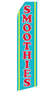 Smoothies Feather Flags | Stock Design - Minuteman Press formely La Luz Printing Company | San Antonio TX Printing-San-Antonio-TX