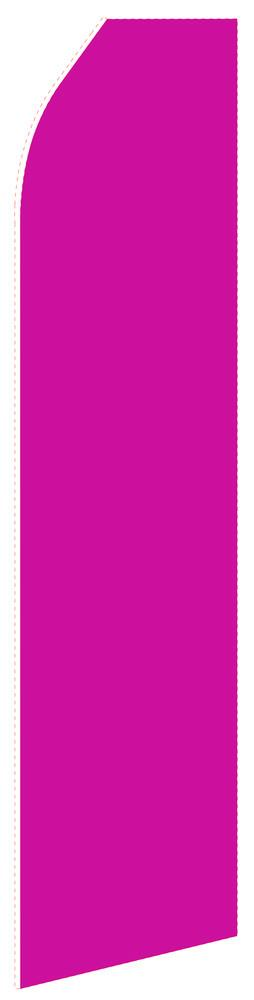 Solid Magenta Feather Flag | Stock Design - Minuteman Press formely La Luz Printing Company | San Antonio TX Printing-San-Antonio-TX