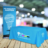 Trade Show Bundle Package | Table Cover and Banner Stand - Minuteman Press formely La Luz Printing Company | San Antonio TX Printing-San-Antonio-TX