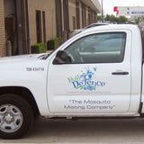 Vehicle Door Decals - Minuteman Press formely La Luz Printing Company | San Antonio TX Printing-San-Antonio-TX