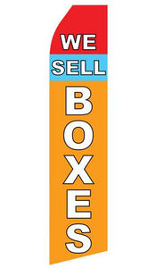 We Sell Boxes Feather Flags | Stock Design - Minuteman Press formely La Luz Printing Company | San Antonio TX Printing-San-Antonio-TX