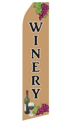 Winery Feather Flag | Stock Design - Minuteman Press formely La Luz Printing Company | San Antonio TX Printing-San-Antonio-TX