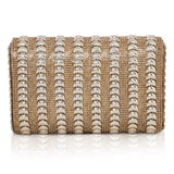 Silver Embellish Clutch
