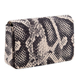 Beige Animal Print Clutch - Niche