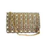Crystal Embellish Clutch - Niche