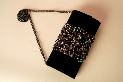 Black Candy Hand Clutch