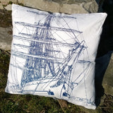 Tall Ships Cushion