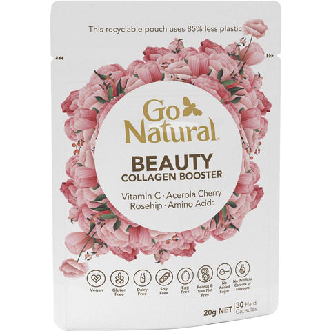Go Natural Beauty Collagen Booster 30 Caps