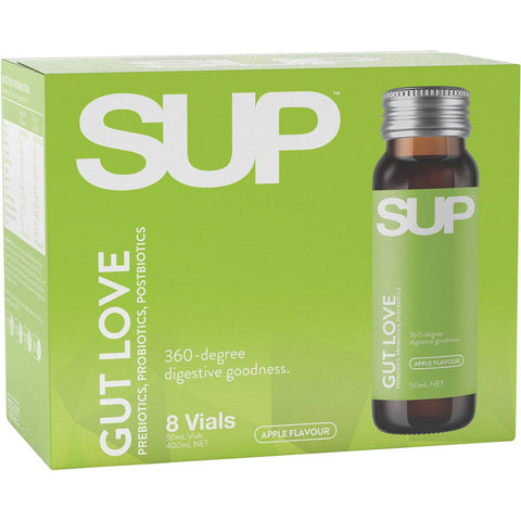 SUP Shots Gut Love Vials 8 x 50ml